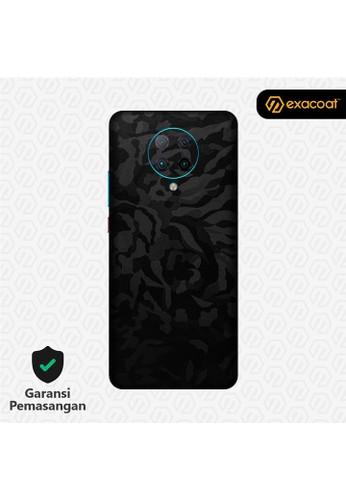 Exacoat Poco F2 Pro 3M Skins Camo Series - Black Camo AB0F9ES68E1DE2GS_1