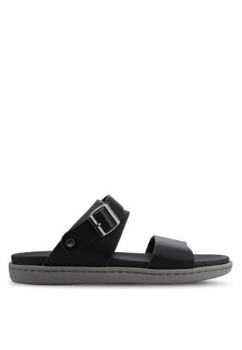 Bata black Strap On Sandals BD937SHE833DBBGS_1
