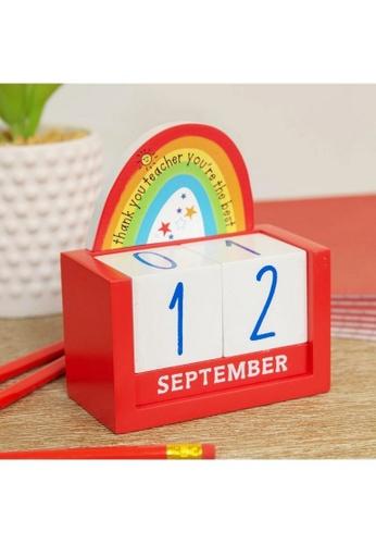Klosh Calendar - Thank You Teacher D2ED7HLE698280GS_1