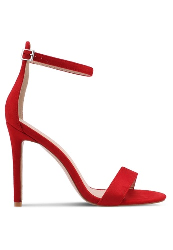 Public Desire red Angel Barely There Heels ABCD9SHA3FC54BGS_1