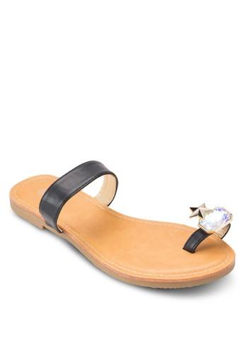 閃石夾趾涼鞋,esprit台灣網頁 韓系時尚, 梳妝