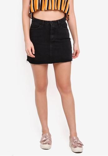 Supre black The Blair Aline Denim Skirt 09542AA86C22BFGS_1