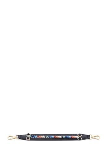 BONIA Black Beaded Mini Strap 0F8AEAC6212775GS_1