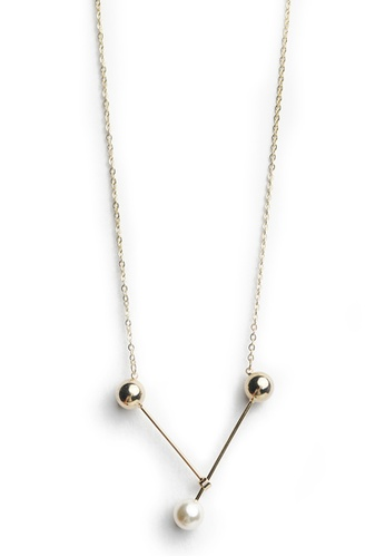 Gung Jewellery gold Peggy Pearl Necklace in Gold 55919AC759CB2FGS_1