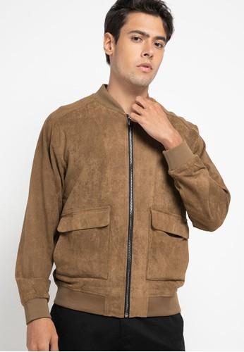 Obermain brown Sworn Jacket EFAB7AA62EAA69GS_1