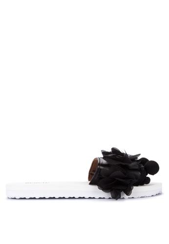 BENCH black Fashionable Slide Sandals 52677SHA3CB8F9GS_1