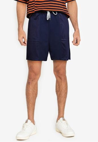 niko and ... blue Mesh Shorts 68327AA221AD7FGS_1