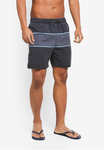 Billabong black Tribong Layback Boardshorts BI783AA0SXR7MY_1