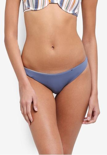 Cotton On Body blue Seamless Brazilian Bikini Bottom 4AA52US2200885GS_1