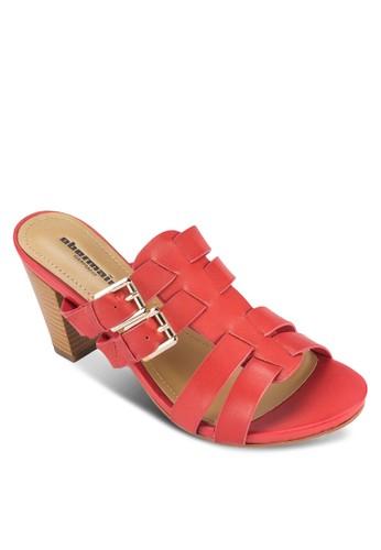 Hillary II 多帶扣環高跟涼鞋, 女鞋, esprit台灣門市鞋