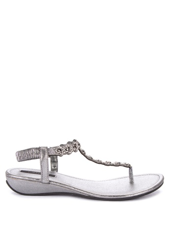 1a393a00e05 Shop Primadonna Jeweled Flat Thong Sandals Online on ZALORA Philippines
