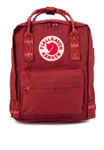 Fjallraven Kanken red Kånken Mini Backpack FJ509AC0J2TOPH_1
