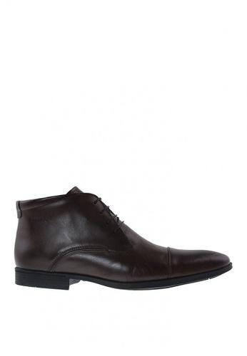 Sebago brown Elbrus Boots Lace Boots 52E4ESHC502165GS_1