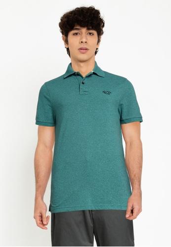 Hollister green Core Polo Shirt A922DAAC72C980GS_1