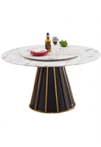 Choice Furniture black Choice Furniture - Demarco Dining Table 2A8A7HLFF59F19GS_1