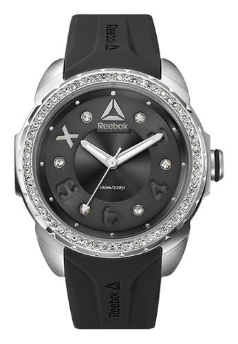 Reebok Watch black Sporty Women's Watches RB RD-IMS-L2-S1IB-B1 4C066AC708ADB3GS_1
