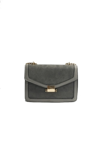 Lara grey Women's Simple Crossbody Bag 8BAF4AC5984183GS_1