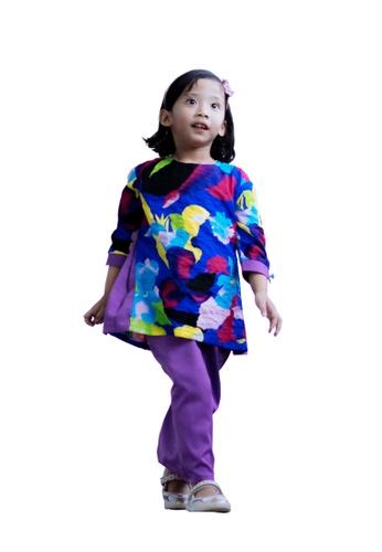 Loka Rosa black and blue and purple and multi Kurung Malaiqa A5053KA1737856GS_1