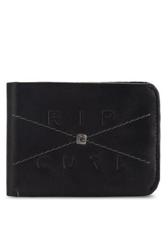 交叉縫esprit 工作線纖薄皮夾, 飾品配件, 飾品配件
