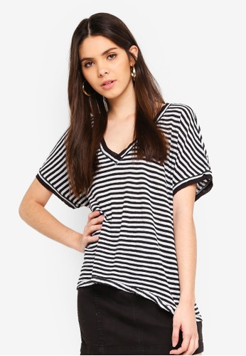 34a2626b69694 Buy Free People Take Me Tee Stripe Online on ZALORA Singapore