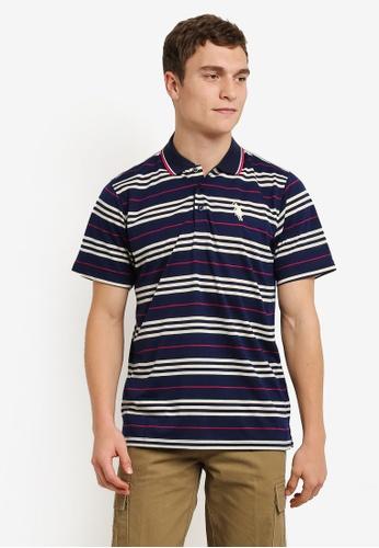 BGM POLO 黃色 Printed Polo Shirt BG646AA0S0K2MY_1