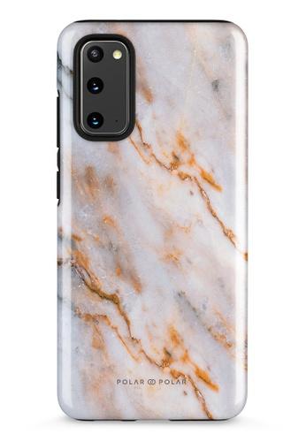 Polar Polar brown Coffee Cream Samsung Galaxy S20 5G Dual-Layer Protective Phone Case (Glossy) A0724AC2FE67D0GS_1