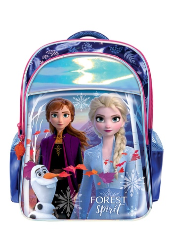 Disney Frozen blue Disney Frozen 2 Movie Flashlight Primary School Bag 85C7BKCB256CFAGS_1