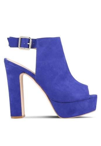 Something Borrowed 藍色 露趾 Platform 高跟鞋 A1333ZZ4749256GS_1