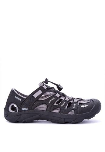 Krooberg grey and multi Rambler Shoes A11E5SH620F44BGS_1
