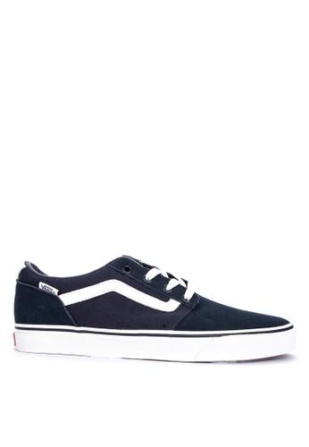 Vans blue Chapman Stripe Sneakers 6269FSHEAAE412GS_1