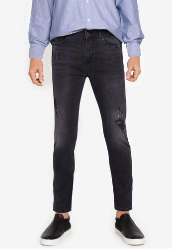 Aeropostale grey Super Skinny Fit Jeans 7199DAA08E4561GS_1