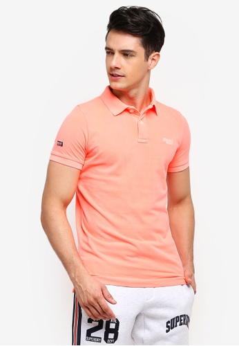 Shop Superdry Vintage Destroy Short Sleeves Pique Polo Shirt Online on ZALORA  Philippines d2cc1730d