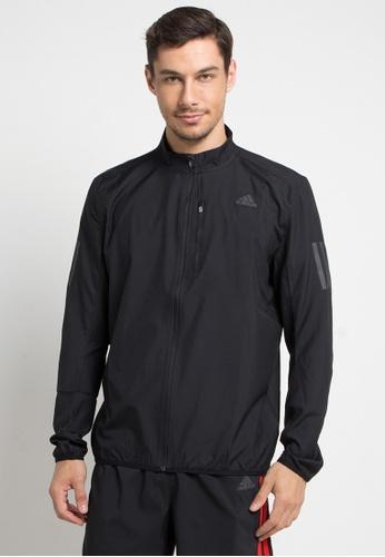 c2265471c489 adidas black adidas own the run jacket 5DB70AA78F7C89GS 1