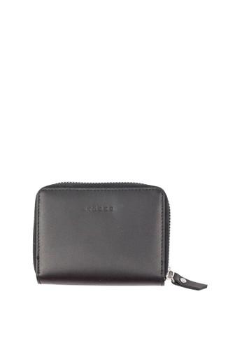 Starke Leather Co black STARKE's Leather Zippered Wallet Terse Doe Black C540BAC4233B67GS_1