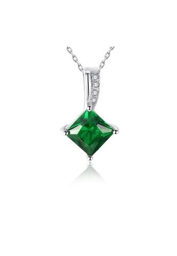 SUNRAIS silver Premium Silver S925 Silver Fashion Necklace CF1FFACECD1F75GS_1