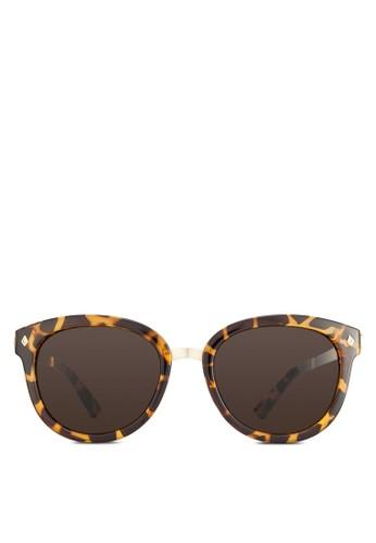 大方框zalora 心得太陽眼鏡, 飾品配件, 長框