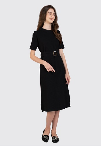 L'zzie black LZZIE MARGARET DRESS - BLACK 9BF7EAAD61F5D9GS_1