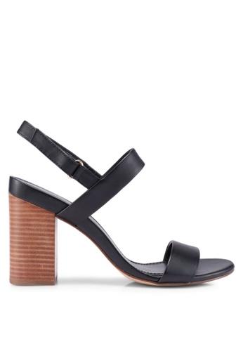 ALDO black Juliett Heeled Sandals 803FASHC942B0DGS_1