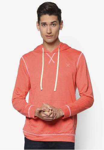 撞色分線連帽長袖衫, 服飾, esprit台灣網頁外套