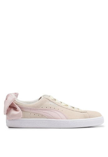 f08c7b2655186a Puma pink Sportstyle Prime Suede Bow Hexamesh Women s Shoes  8C5BASH32A9943GS 1