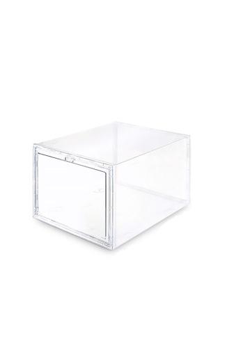 HOUZE SoleMate - Drop Lid High-Cut Shoe Box B0F86HLC823CADGS_1