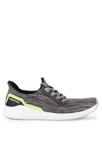 Homypro grey Booster 02 Sneakers 36C63SH1CEB007GS_1