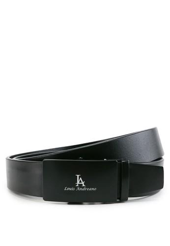 Louis Andreano black Signature Automatic Belt CA78BAC74F3CB7GS_1