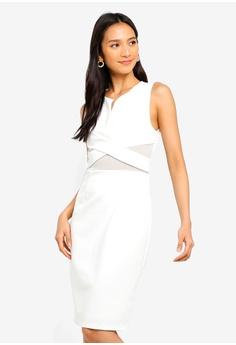 24bcc621628 Dressing Paula white Cutout Roma Dress B9DB7AAD04667DGS 1