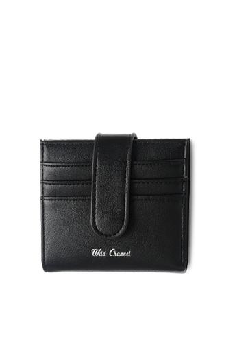 Wild Channel black Faux Leather Wallet 7A8ADAC904DDADGS_1