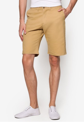 合身百慕達休閒短褲, 服飾,esprit台灣網頁 短褲