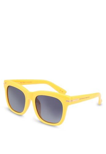 673020b9bb1 Privé Revaux grey Privé X Madelaine Clique Sunglasses 501A4GLC039076GS 1