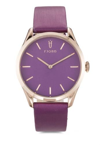 VENDELesprit 品牌A 雙指針皮革錶, 錶類, 飾品配件