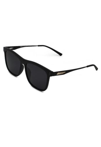 jojo black Wayfarer TR90 Wings Details Metal Temple Polarized Sunglasses 59271GLB76EE60GS_1
