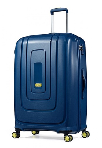 American Tourister blue American Tourister Lightrax Spinner 79/29 TSA AM536AC75FJCSG_1